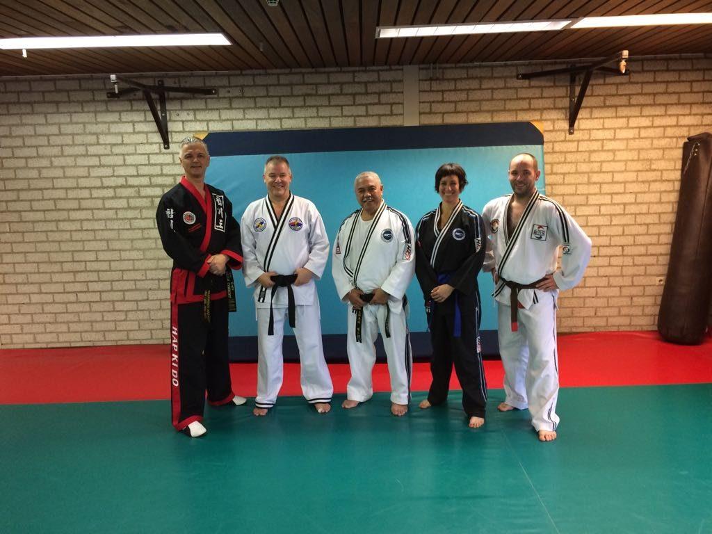 Hapkido Dan examen Eindhoven.